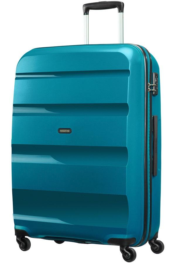 3d0764e9fb7f8 American Tourister cestovný kufor na 4 kolieskach, BON AIR spinner L,  85A*003 (Blue_01)